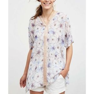 Anthropologie One September Lyla Tunic Top